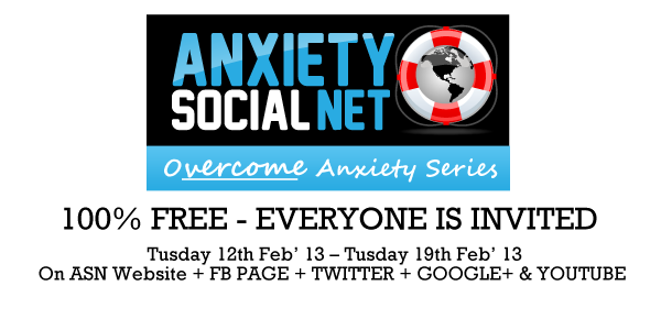 Let's overcome anxiety together!